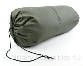Snugpak  slaapzak groen met tas - buitenmaat 225 cm lang en breedte 75 cm - origineel