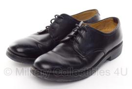 KL nette schoenen van Lier - gebruikt - zwart leer - maat 285M = 44,5M - origineel
