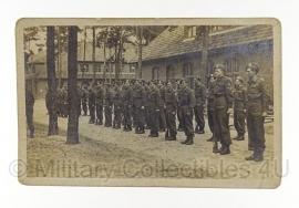 Foto Nederlandse leger jaren 50 - orgineel