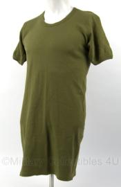 KLu Luchtmacht shirt groen 1995 - maat 8 - origineel