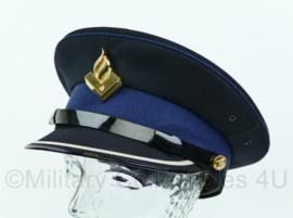 Platte pet van de Nederlandse politie overgangsmodel hogere rangen ZELDZAAM - Maat 58,5 - Origineel