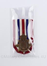 Ereteken voor Orde en Vrede medaille - nieuw in de verpakking - 8 x 4,5 cm -  origineel