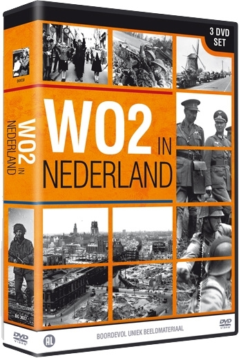 3 DVD box set WO2 in Nederland