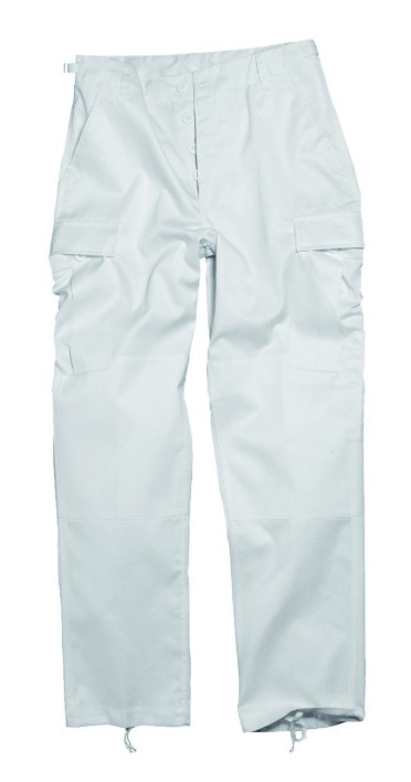 Marine broek wit met beenzakken - nieuw gemaakt