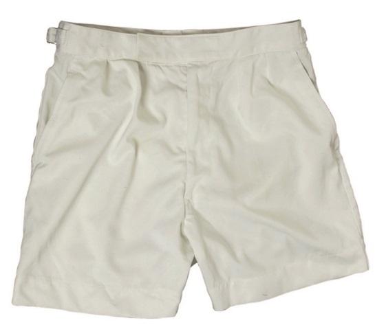 Marine korte broek wit - origineel leger