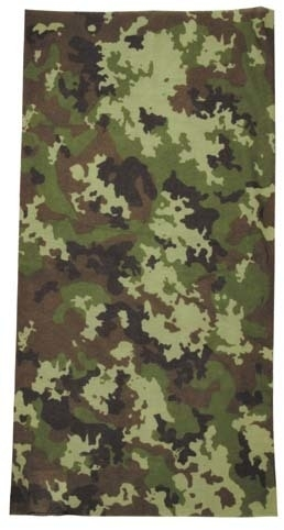 Multifunctionele Camo sjaal (of balaclava, hoofd band etc) - Operation camo