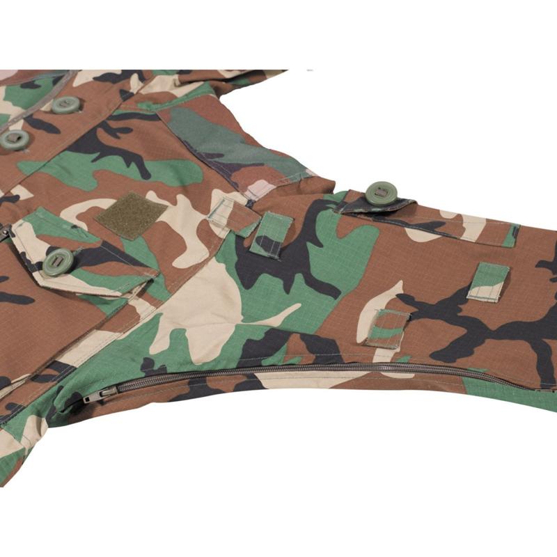 Commando smock Rip stop Woodland | Jassen & parka's