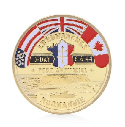 Penning D Day 6-6-1944  Normandië