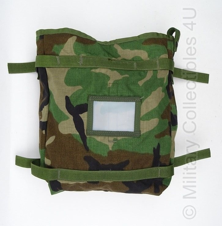 US Army Molle II Pouch Radio Woodland camo  - origineel