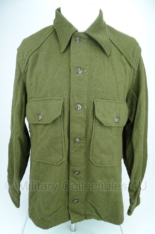 US Army M1951 -korea oorlog periode - blouse wol - maat Small of Medium -  origineel