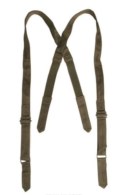 Franse leger bretel GROEN - ongebruikt - origineel