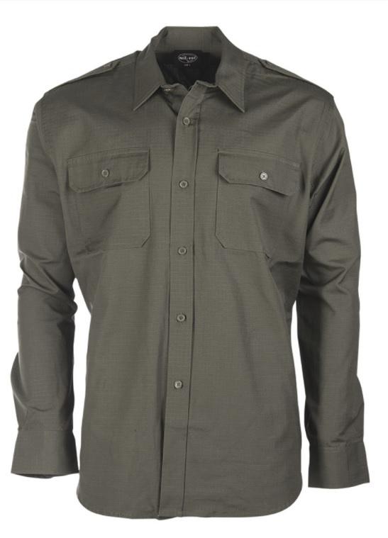 Field blouse Overhemd RIPSTOP - OD groen