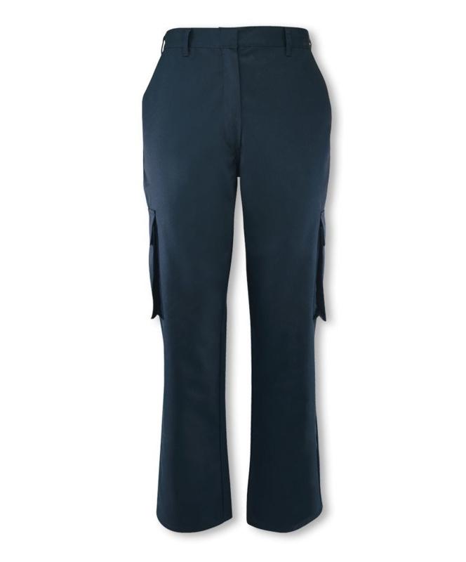 Security VEVA Handhaving  Alexandra Women's Cargo Trouser - Navy Blue - NIEUW -