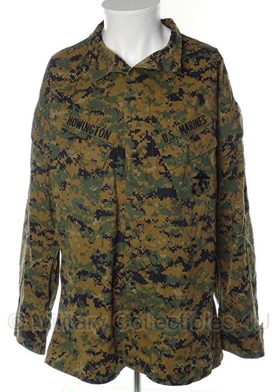 USMC Marpat Digital Woodland Camouflage Jacket Blouse