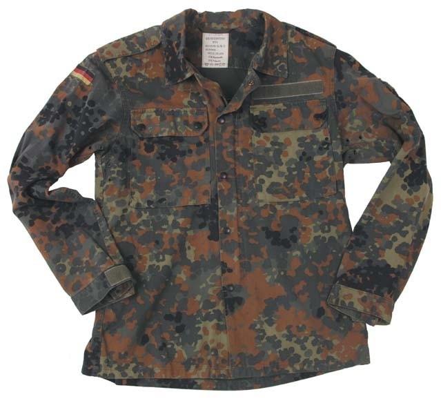 Bundeswehr flecktarn jas  - origineel