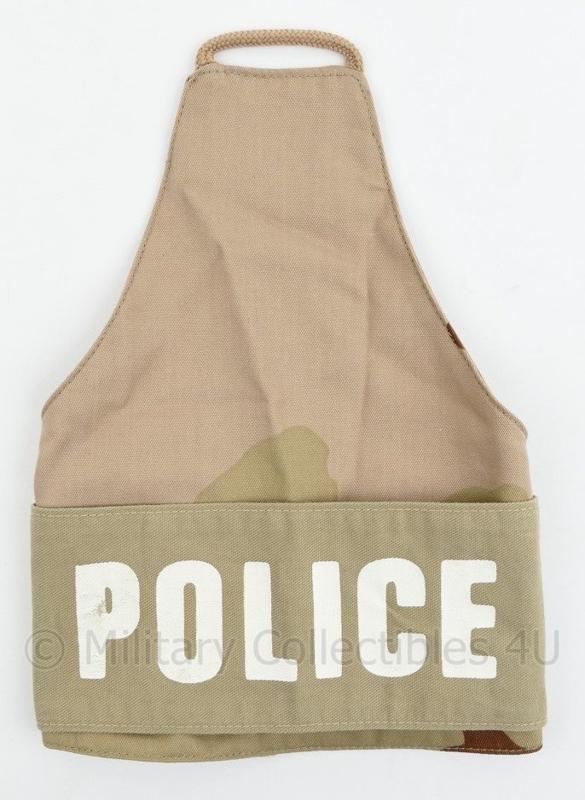 KL Desert camo Police armband bovenarm Koninklijke Marechaussee Kmar - nieuw - 27 x 19 cm - origineel