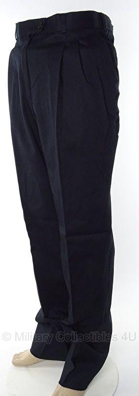 Nederlandse Marine uitgaans uniform broek donkerblauw - 60% katoen/40% polyester - maat 50 - origineel