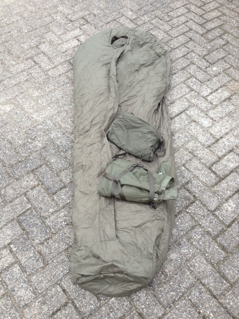 KL Nederlandse leger Modulaire slaapzak set - maat MEDIUM  - origineel