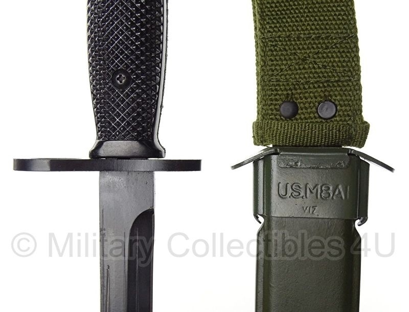 US M7 bajonet met schede M8a1 - replica | Bajonetten