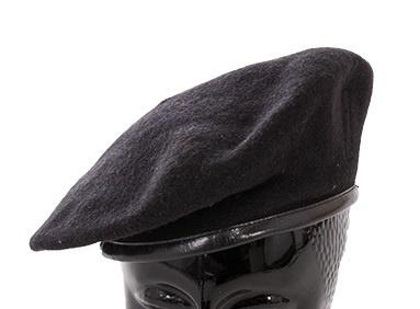 Italiaanse leger baret zwart zonder insigne - meerdere maten - origineel