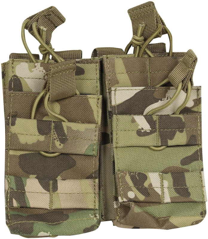 Viper  MAG pouch Double MOLLE open M4 5.56mm MAG / Bungee retention - 2 MAG Pouch Multicam  - Nieuw