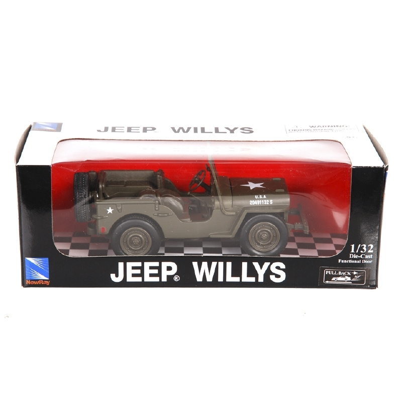 Willys MB WO2 jeep model 1/32