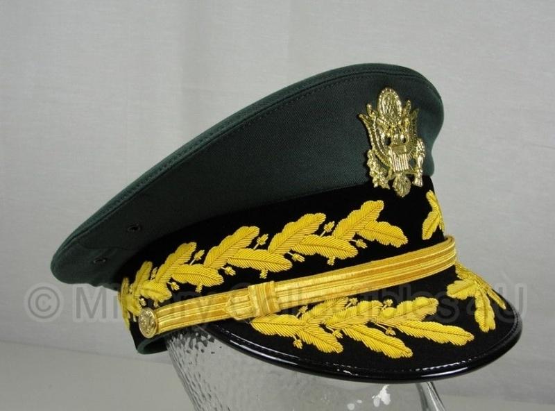 US General visor cap generaals pet - met zij embroidery - maat 57 tm. 59