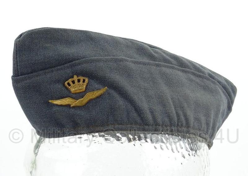 KLU Luchtmacht schuitje - grijsblauw - maat 56 - origineel