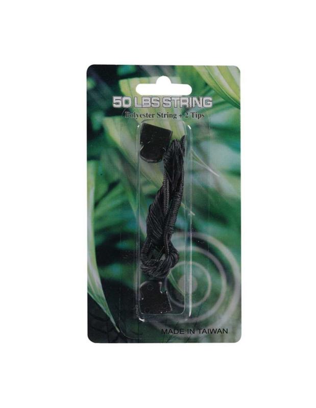 Kruisboog strin/pees 50 LBS - Polyester String + 2 tips