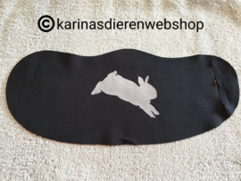 Mondkapje Universeel zwart konijn