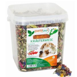PETIFOOL kräuterwiese / Kruiden Weide 380 gram