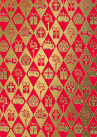 Inpak papier Sinterklaas  ... 1 meter
