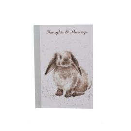 A6 Notitieboek Konijn Hangoor Rosie Wrendale designs