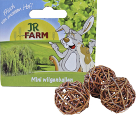 JR Farm knaagdier pak à 3 mini wilgenbal