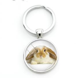 sleutelhanger konijn