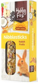 Hobbyfirst Hope Farms Nibblesticks Rabbit Fruits - Knaagdiersnack - 90 g