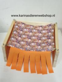 """Schuil hangmat voor vrijstaande houten hangmat staander """"cavia HALLOWEEN"""""""