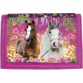 Animal Pictures Portemonnee Paarden Forest - 12 x 8 cm - polyester