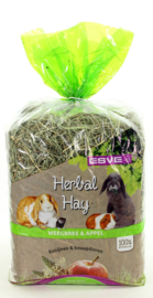 Herbal Hay Weegbree & Appel 500 gram (groen)