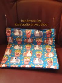 "Hangmat  ""knaagdier""  XL .... Cavia print POPCORN"