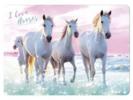 I Love Horses placemat