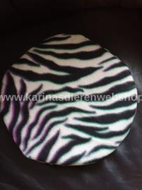 Losse Hoes ø 26 cm voor Kruik XL : Zebra
