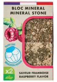 Zolux Eden Mineraalsteen Knaagdier Framboos 2 st 200 gr