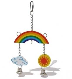 Woodies Rainbow Mobile: voor knaag en speel plezier