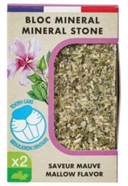 Zolux Eden Mineraalsteen Knaagdier Kaasjeskruid 2 st 200 gr