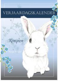 Konijnen Verjaardagskalender (Nederlandstalig)
