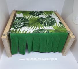 Vrijstaande Hangmat Set staander met 1 schuil hangmatje JUNGLE