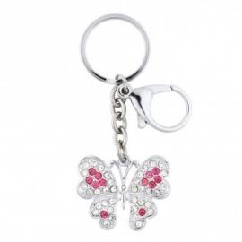 Glitter sleutelhanger vlinder van Lisbeth Dahl