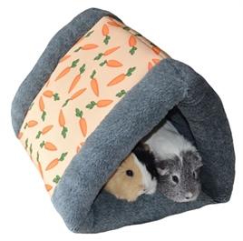 Tunnel met worteltjes print