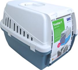 Savic plastic reismand Trotter 1, earthblue/wit